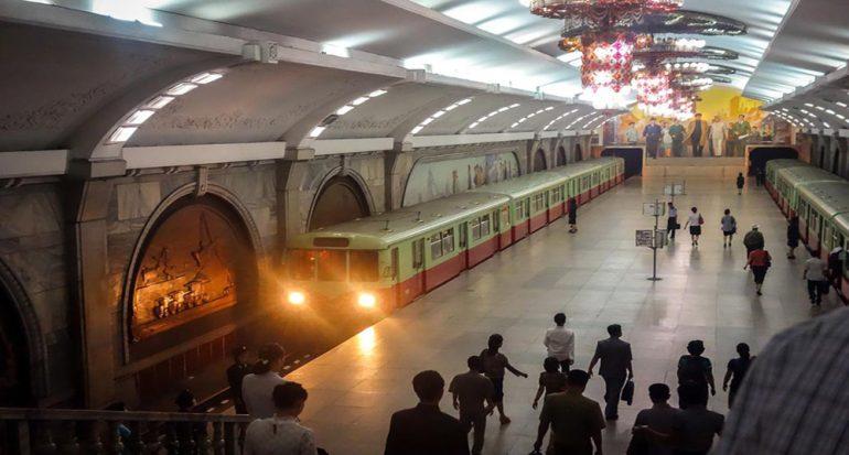 ¡El metro de Corea del Norte está abierto al público!