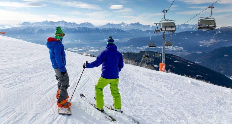 ¡Por fin hay nieve en los Alpes!