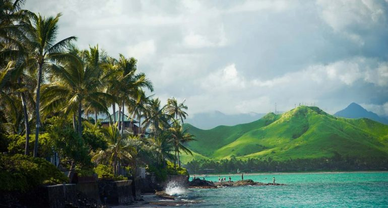 ¿A dónde se mueve Hawái?