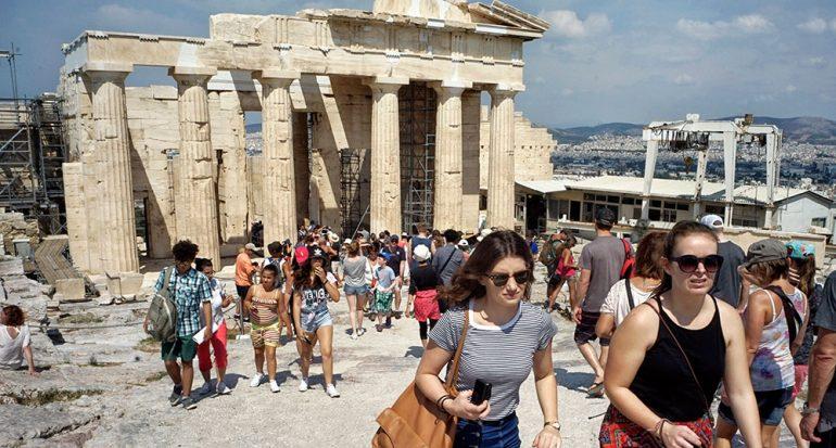 ¿Afecta a los turistas la situación de Grecia?