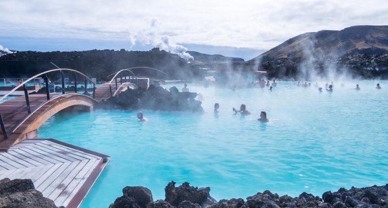 ¿Cómo obtienen agua caliente en Islandia?
