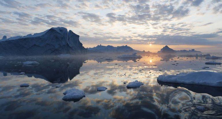 ¿Cuándo anochece en el Polo Norte?