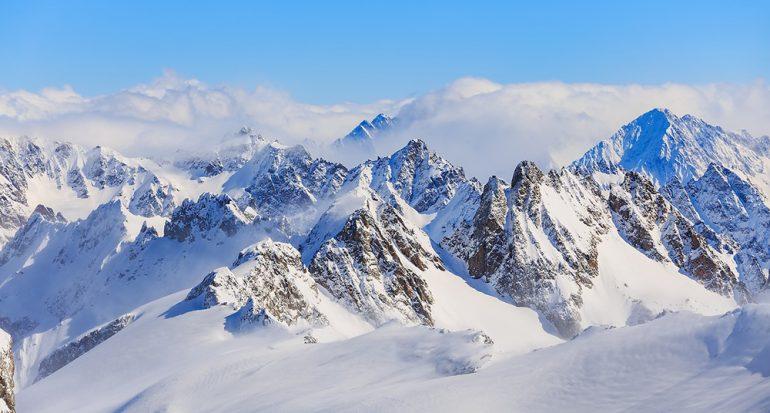¿Cuánta agua dulce hay en las montañas?