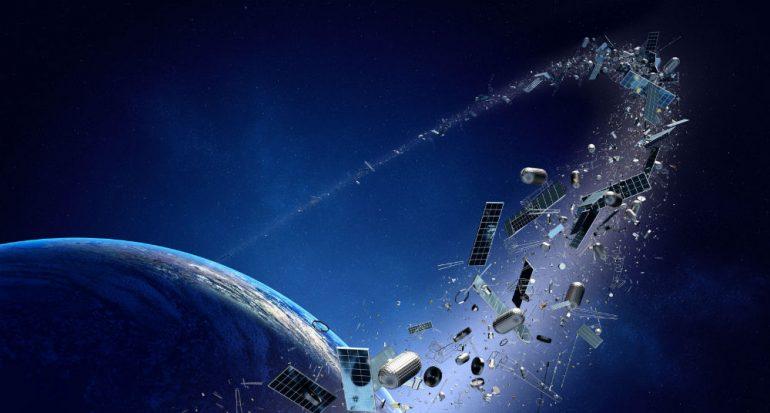 ¿Cuánta basura hay en el espacio?