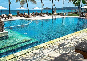¿Cuánta orina tiene una piscina comunitaria?