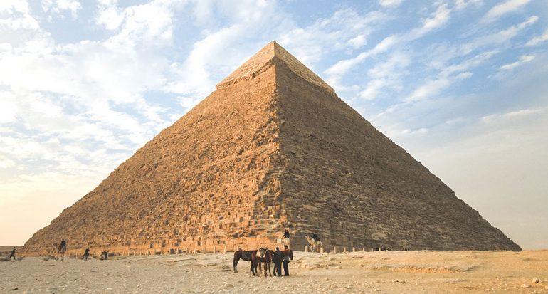 ¿Cuántas pirámides han sido descubiertas en Egipto?