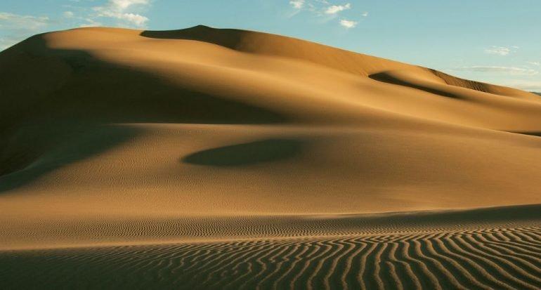 ¿Cuánto puede medir una duna?