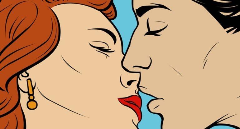 ¿Cuántos músculos se usan en un beso?