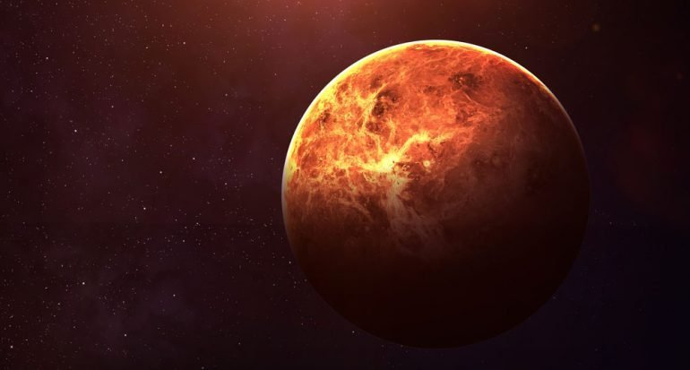 ¿De qué color es el cielo en Venus?