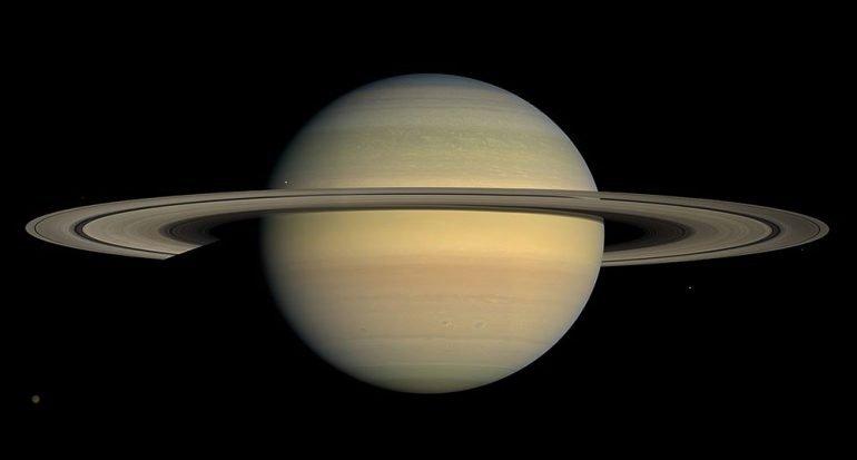 ¿De qué están hechos los anillos de Saturno?