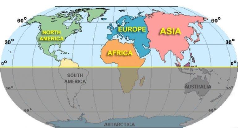 ¿En qué hemisferio viven más personas?