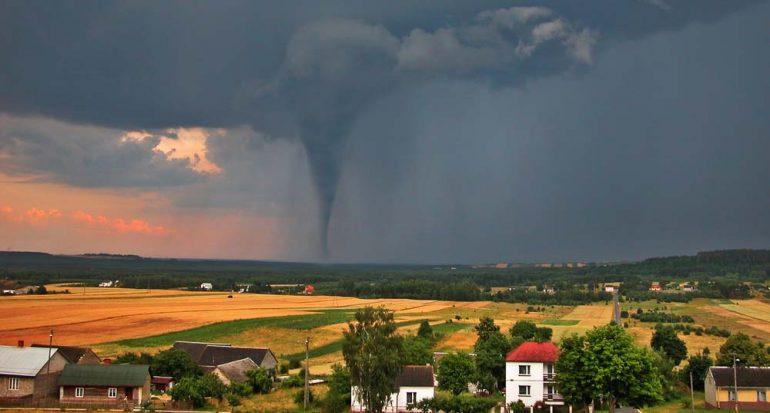 ¿En qué país hay más tornados?