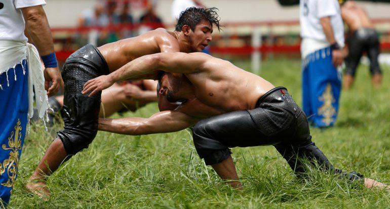 ¿En qué país la lucha libre es su deporte nacional?