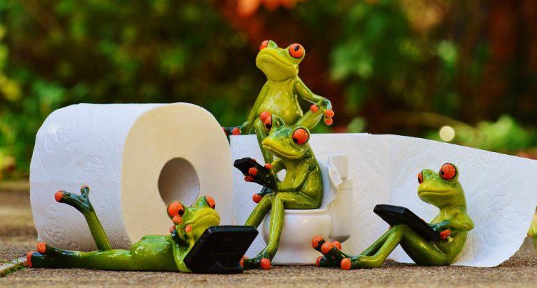 ¿En qué país se usó por primera vez el papel de baño?