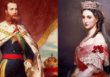 ¿En qué parte de México coronaron a Maximiliano?
