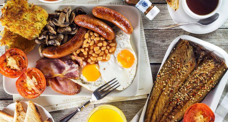 ¿Has probado el desayuno inglés ?completo??