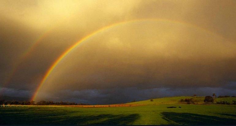 ¿Los arcoiris se clasifican?