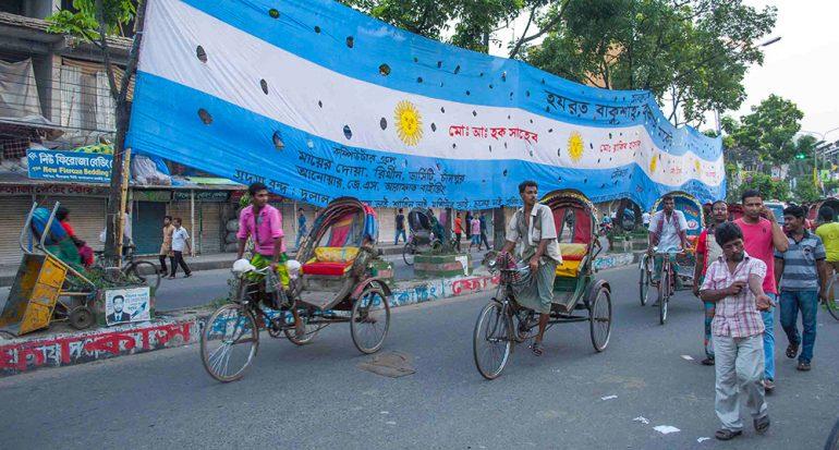 ¿Por qué en Bangladés aman a Argentina?