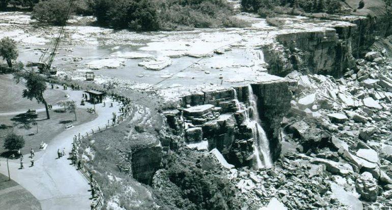 ¿Por qué las Cataratas del Niágara se quedarán sin agua?