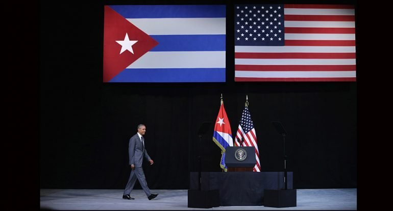 ¿Qué dijo Obama en Cuba?