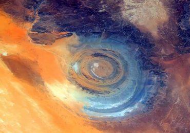 ¿Qué es el ojo del Sahara?