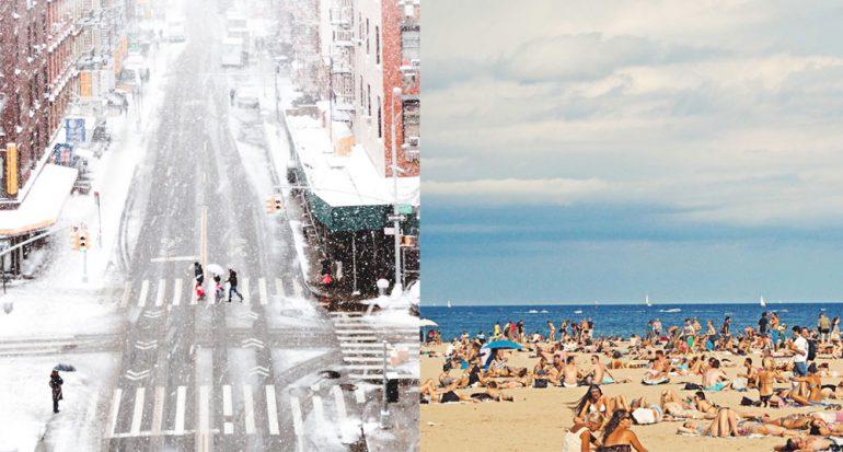 ¿Qué es más corto: el invierno o el verano?