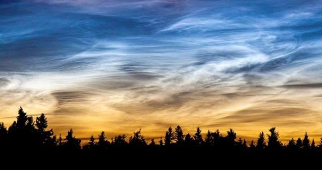 ¿Qué es una nube noctilucente?