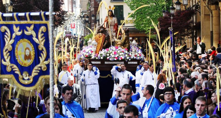 ¿Qué se celebra en el Domingo de Ramos?