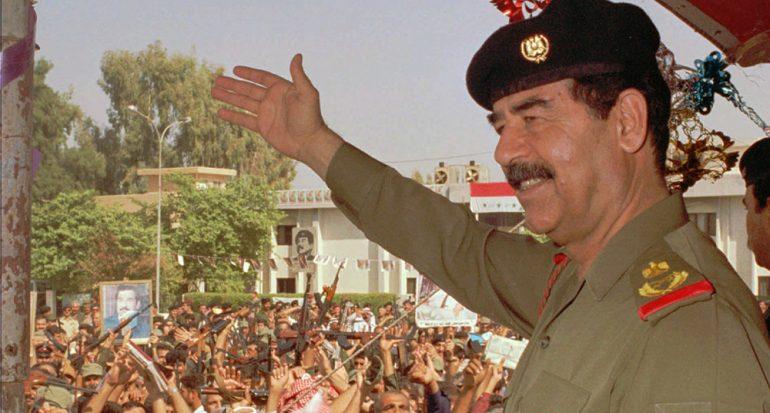 ¿Sabías que a Saddam Hussein le dieron las llaves de una ciudad en EUA?