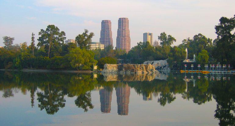 ¿Sabes qué país cabe casi 3 veces en el Bosque de Chapultepec?