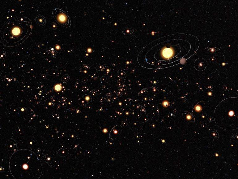 ¿Un planeta por cada estrella?