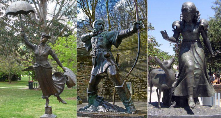10 estatuas de Disney alrededor del mundo
