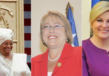 12 mujeres en el poder en el 2017