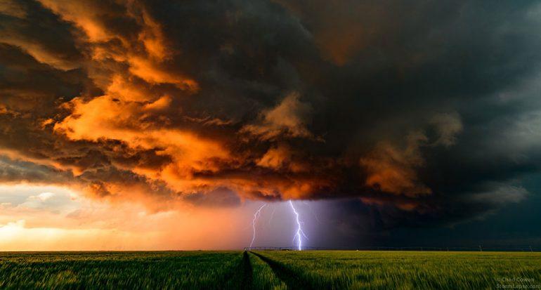 6 años de tormentas recopiladas en un ?time-lapse?