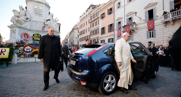 7 citas verdes del papa Francisco