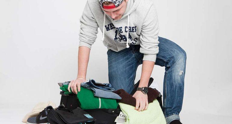 7 pasos para hacer la maleta