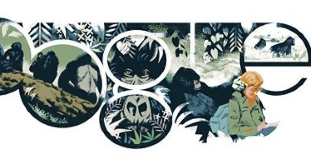 82 años de Dian Fossey