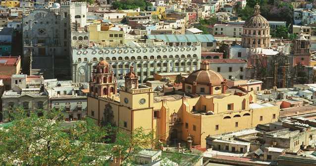 A pie por Guanajuato