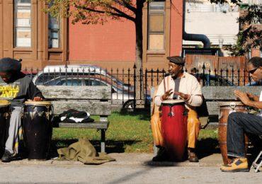 A pie por Harlem