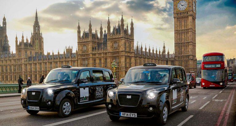Ahora son eléctricos los icónicos taxis negros de Londres