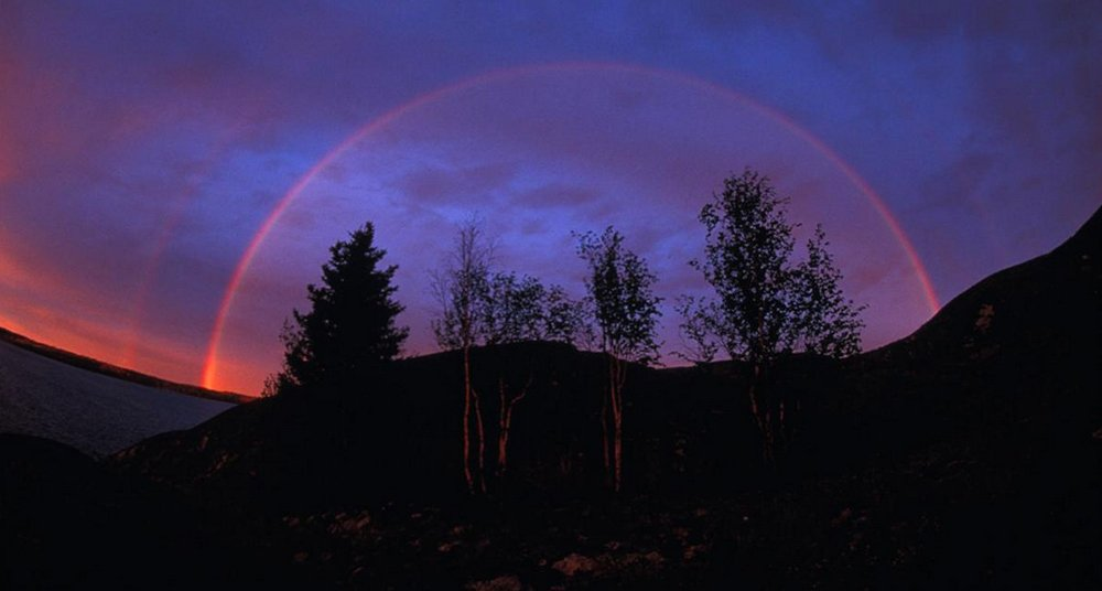 Algunos arcoíris no tienen todos los colores que esperamos