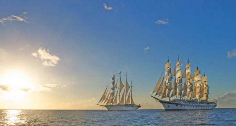 Alistan el mayor velero del mundo