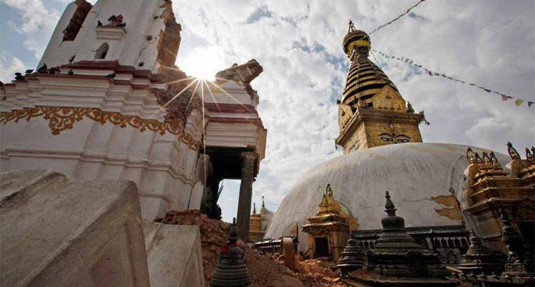 Apresuran las reparaciones en Nepal