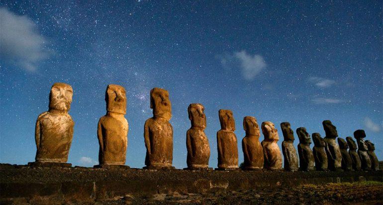 Armas de habitantes de Rapa Nui