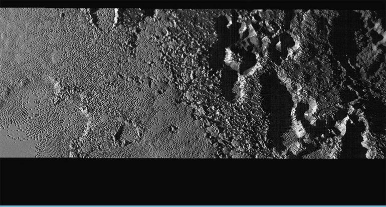 Así es el corazón de Plutón