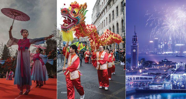 Así recibió el mundo al año nuevo chino del gallo