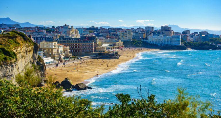 Biárritz: una playa para reyes