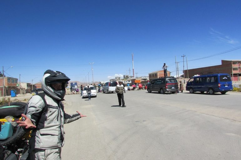 Blog en moto | El escape de Oruro