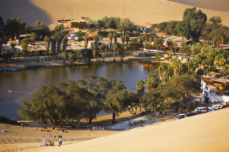 Blog en moto | Entre oasis y dunas