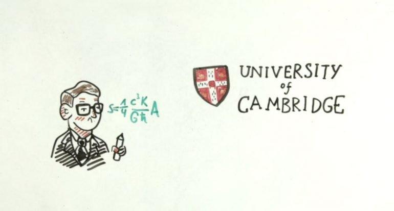 Breve historia (animada) de la vida de Stephen Hawking